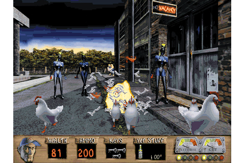 Download Redneck Rampage | DOS Games Archive
