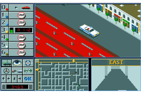 Download Chicago 90 racing for DOS (1989) - Abandonware DOS