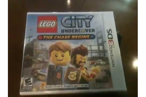 Lego City Undercover: The Chase Begins UNBOXING!!! - YouTube