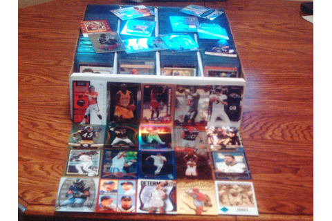 SPORTS CARD COLLECTION GAME USED BASEBALL BASKETBALL ...