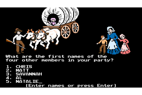 'Savannah has typhoid': TODAY.com takes on 'Oregon Trail ...