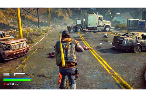 DAYS GONE - E3 2018 Gameplay Demo - YouTube