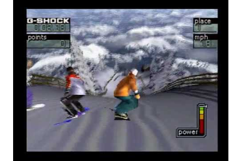 Cool Boarders 4 Demo [PSX] - YouTube