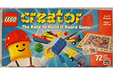 Amazon.com: LEGO Creator: The Race to Build It Board Game ...