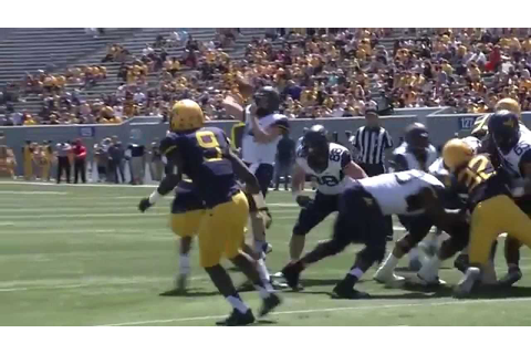 WVU Spring Game Highlights - YouTube