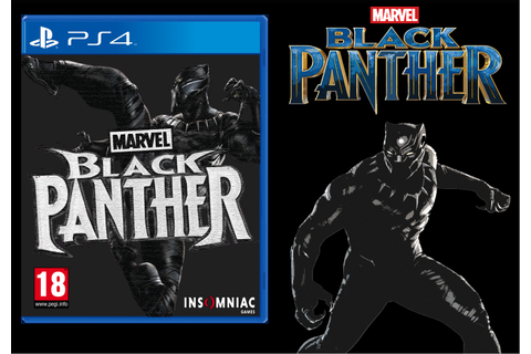 Black Panther (PS4) Insomniac PlayStation 4 Box Art Cover ...