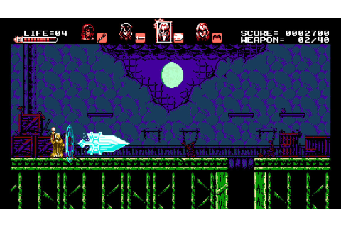 Bloodstained: Curse of the Moon (Switch eShop) News ...