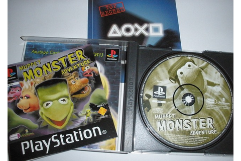 Playstation 1 game: Muppet Monster adventure - Catawiki