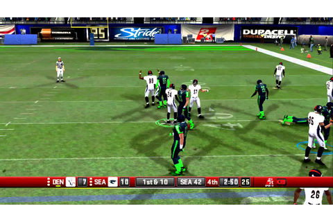 All Pro Football 2K8 Seahawks vs Broncos ( Playoff Edition ...