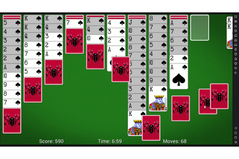 Free Spider Solitaire for Android by MobilityWare - YouTube