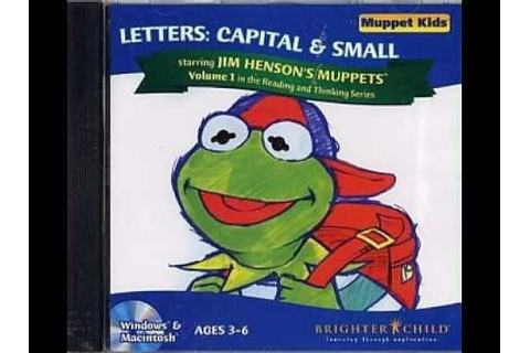 Muppet Kids - Letters: Capital & Small (CD-ROM, Game 1990 ...