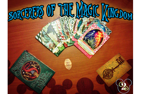 Sorcerers of the Magic Kingdom Spell Card Game