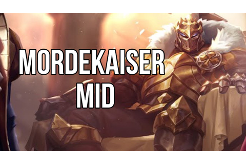 League of Legends - King of Clubs Mordekaiser Mid - Full ...