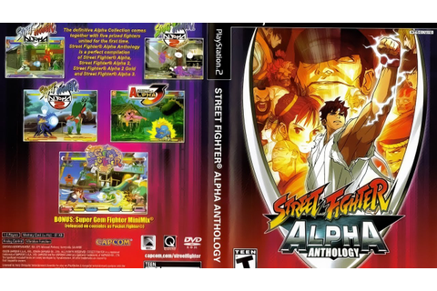 Live! Street fighter Alpha Antology - Ps2 Gameplay ...