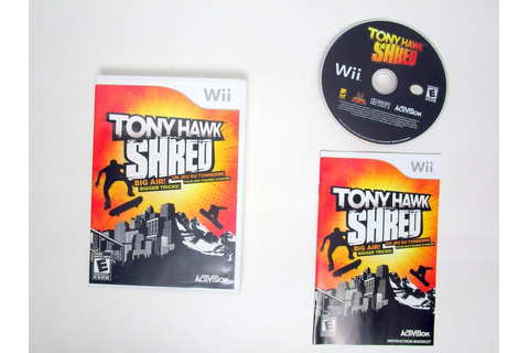 Tony Hawk: Shred game for Nintendo Wii | The Game Guy
