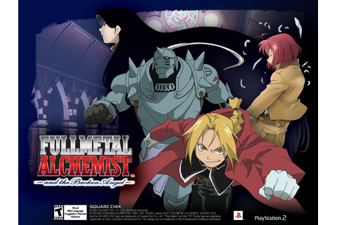 Fullmetal Alchemist and the Broken Angel Fiche RPG ...