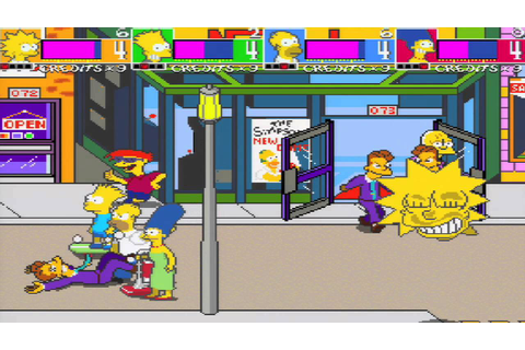 The Simpsons Arcade Game (XBLA, PSN) - YouTube