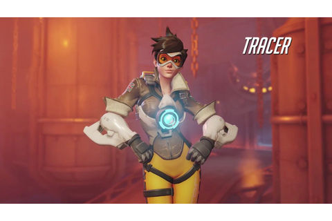 Overwatch Tracer Gameplay Trailer - YouTube