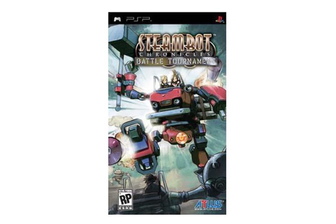 Steambot Chronicles: Battle Tournament PSP Game ATLUS ...