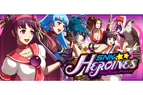 Save 15% on SNK HEROINES Tag Team Frenzy on Steam