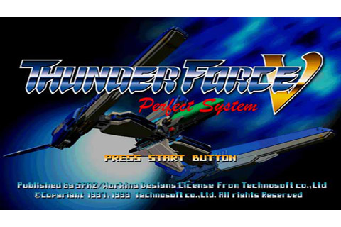 Download games for PC or tablet: Thunder Force V
