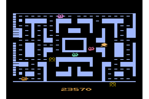 Play Crazy Otto 1.0 Online A2600 Rom Hack of Ms. Pac-Man ...