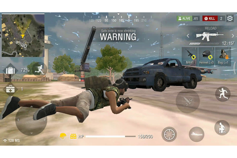 Free Fire Best Multiplayer Online Fps Android Game - YouTube