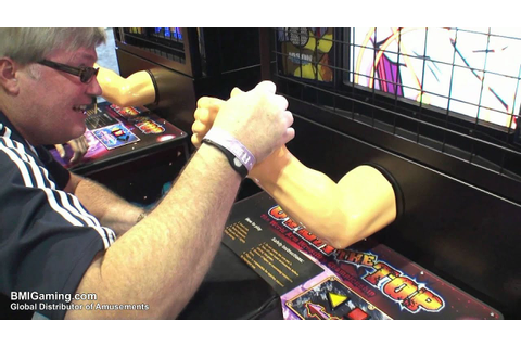 Over The Top - Arm Wrestling Video Arcade Machine ...