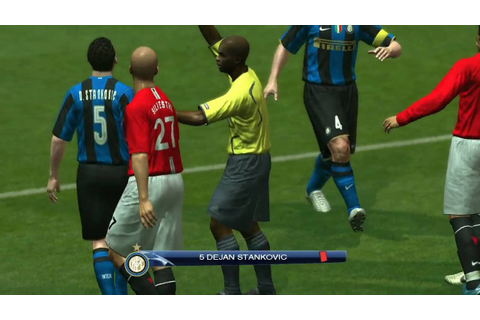 Pro Evolution soccer 2009 - (PC-GAMEPLAY) - YouTube