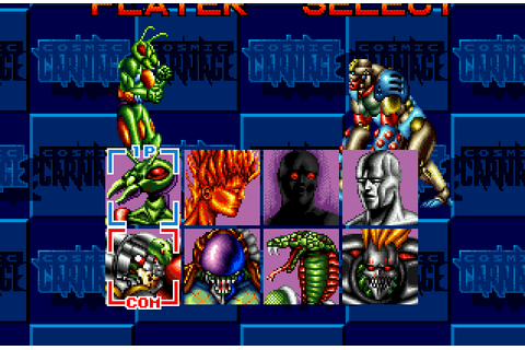 Super Adventures in Gaming: Cosmic Carnage (32X)