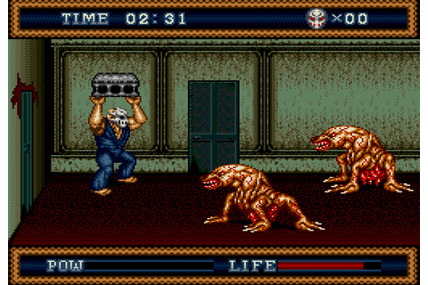 Splatterhouse 3 | Blue Skies Daily