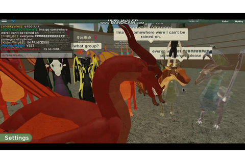Wings of fire: The FIRST Wings Of Fire Game in Roblox ...