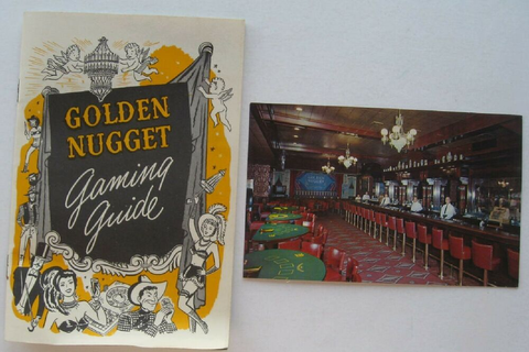 Booklet For The Golden Nugget Gaming Guide w/ Postcard | eBay