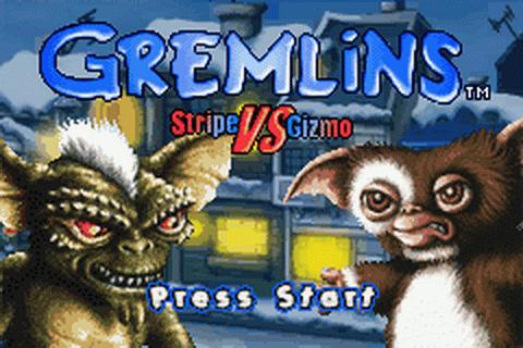 Play Gremlins - Stripe vs Gizmo Nintendo Game Boy Advance ...