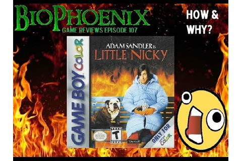 BioPhoenix Game Reviews: Little Nicky (GBC) - YouTube