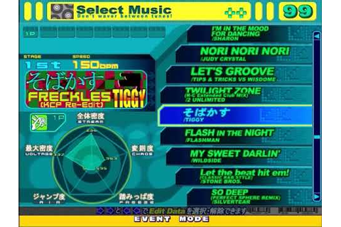 DDRMAX Dance Dance Revolution 6th Mix Song List - YouTube
