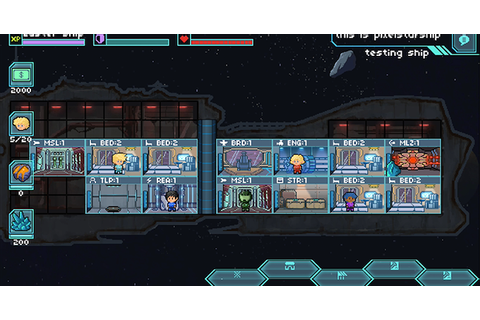 Pixel Starships: 8Bit Starship Management Strategy MMO RPG ...