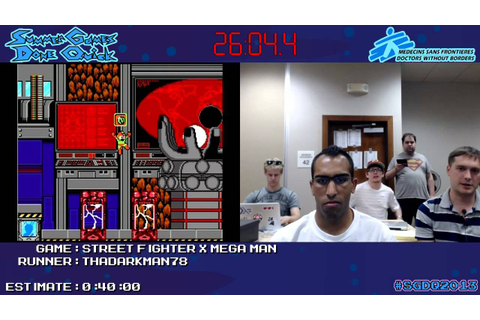 Street Fighter X Mega Man - SPEED RUN (0:32:43.8) *Live at ...