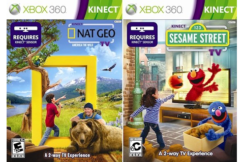 Xbox 360 Impressions: Kinect Nat Geo TV and Sesame Street ...