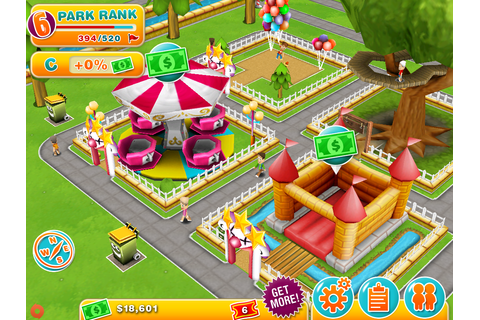 Theme Park on iOS is an expensive, slow-moving experience