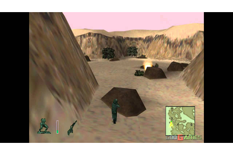 Army Men 3D - Gameplay PSX / PS1 / PS One / HD 720P (Epsxe ...