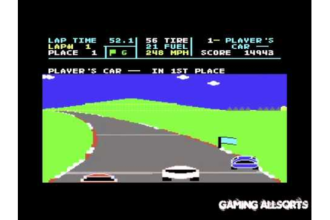Richard Petty's Talladega - Commodore 64 C64 - YouTube