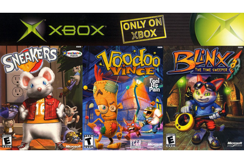 Xbox Эксклюзивы: Sneakers, Voodoo Vince, Blinx: The Time ...