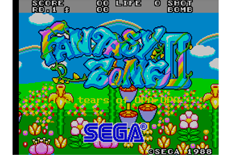 Fantasy Zone II - The Tears of Opa-Opa (MC-8123, 317-0057 ...