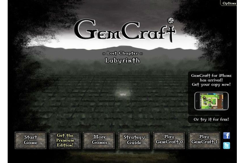 Play GemCraft Labyrinth, a free online game on Kongregate