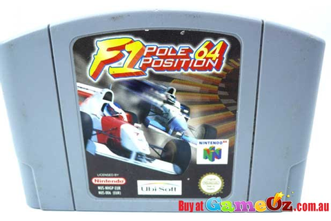 F1 Pole Position Nintendo 64 Game N64 Game