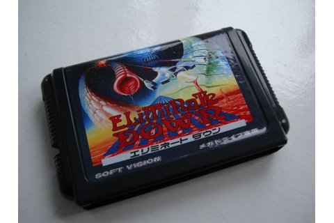 Eliminate Down game Sega Megadrive