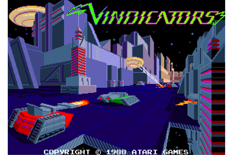 Vindicators - Videogame by Atari Games