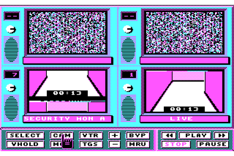 Hacker II: The Doomsday Papers (1986) by Activision MS-DOS ...