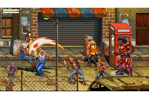 Indie Retro News: The world of Streets of Rage - My kick ...